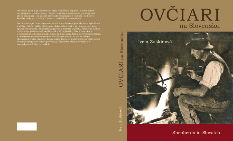 Monografická publikácia OVČIARI NA SLOVENSKU